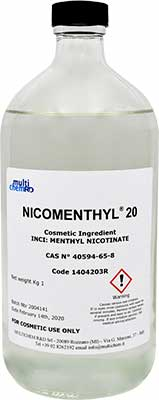 bottle 1 litre nicomenthyl 20